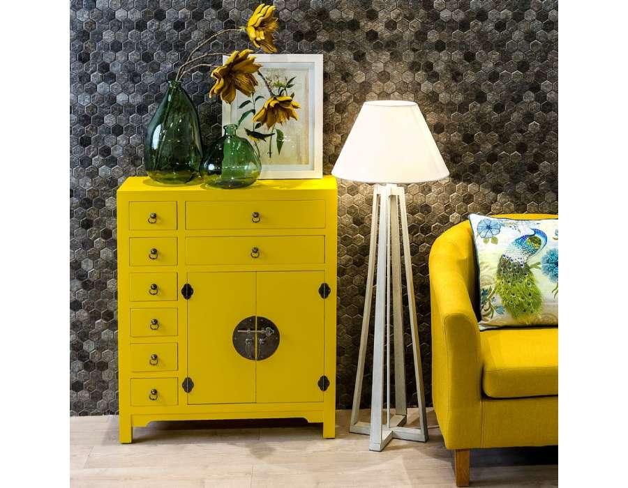 meuble buffet chinois jaune meuble chinois pas cher. Black Bedroom Furniture Sets. Home Design Ideas