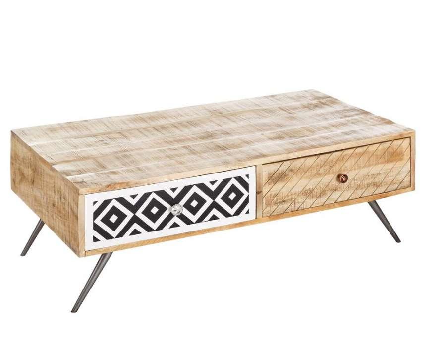 table basse scandinave en bois c rus nordique. Black Bedroom Furniture Sets. Home Design Ideas