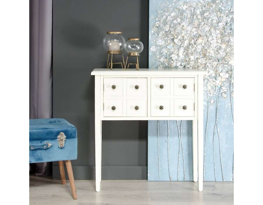 petite console droite cr me pas chere. Black Bedroom Furniture Sets. Home Design Ideas