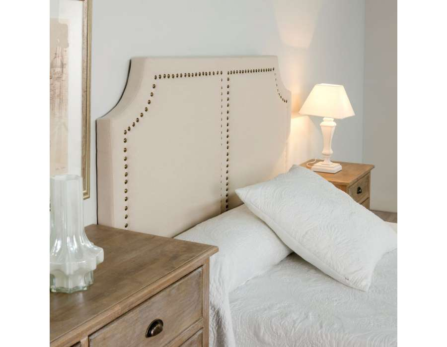 t te de lit 160 cm lisse clout e pas chere. Black Bedroom Furniture Sets. Home Design Ideas