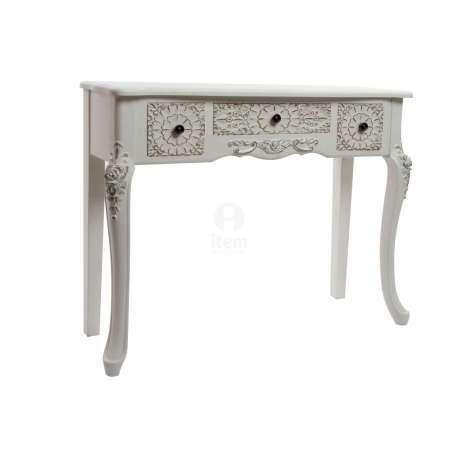 console galb e baroque blanche pas chere. Black Bedroom Furniture Sets. Home Design Ideas