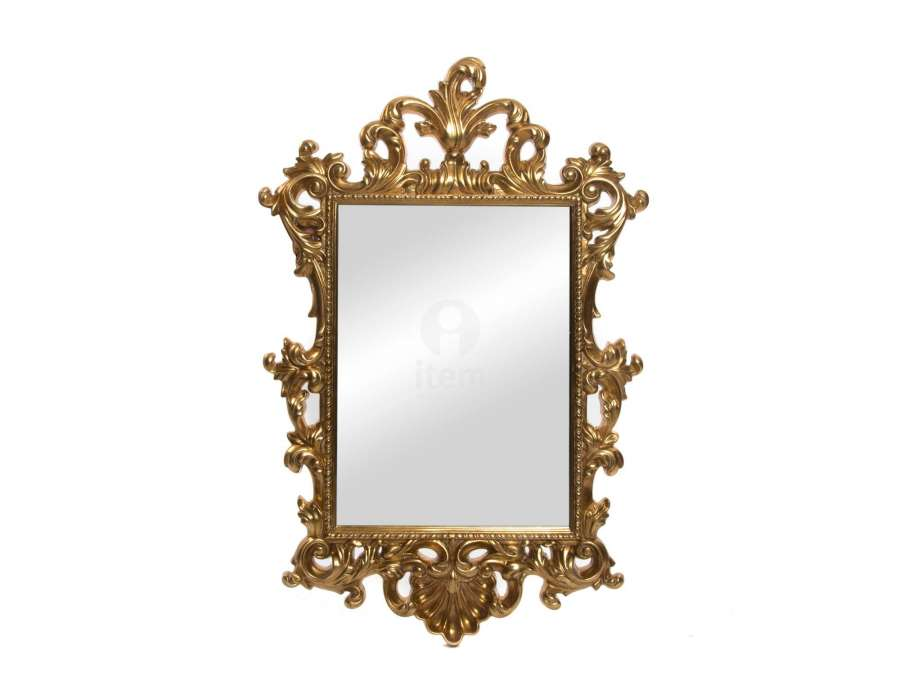 Awesome miroir baroque noir ovale ideas for Miroir noir baroque