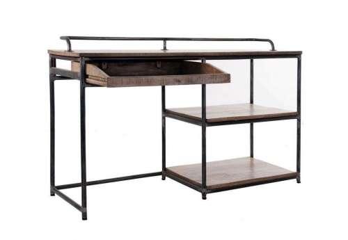 Bureau industriel métal bois Vical Home