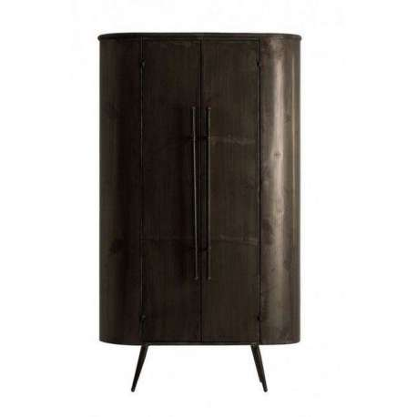 Armoire m tallique arrondie industrielle vical home - Armoire industrielle metallique ...