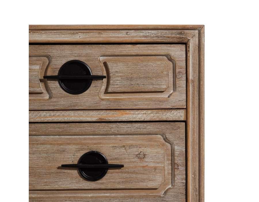 chiffonnier vintage 4 tiroirs c rus pas cher. Black Bedroom Furniture Sets. Home Design Ideas