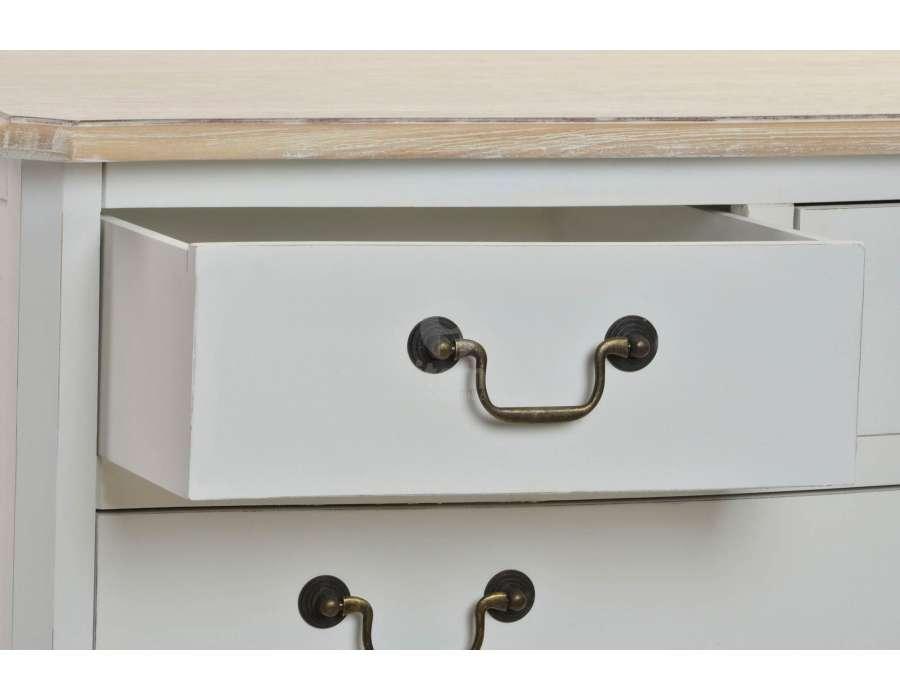 beautiful commode blanche 5 tiroirs pictures joshkrajcik. Black Bedroom Furniture Sets. Home Design Ideas