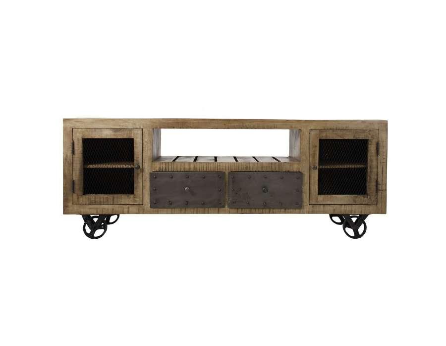 Meuble Tv bois industriel Vical home