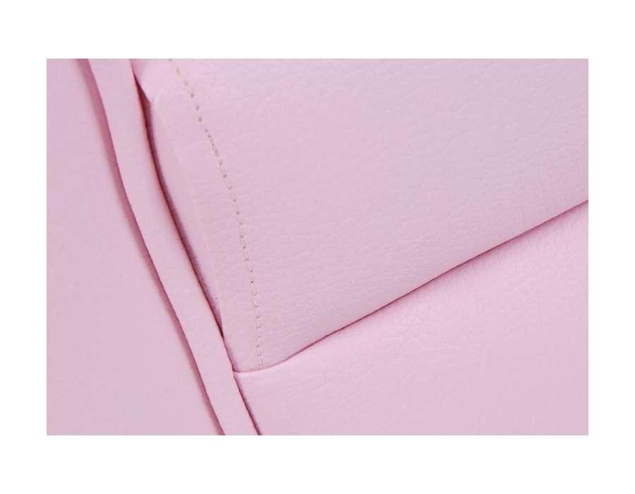 Fauteuil club pour enfant rose de la marque Amadeus