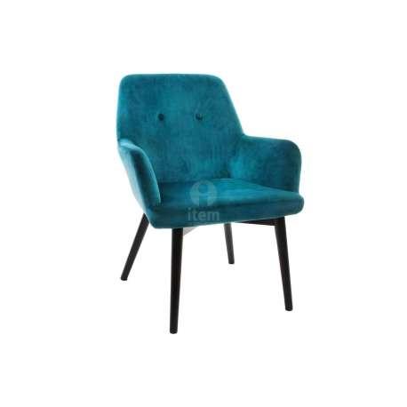fauteuil bleu canard moderne - Fauteuil Bleu Canard Pas Cher