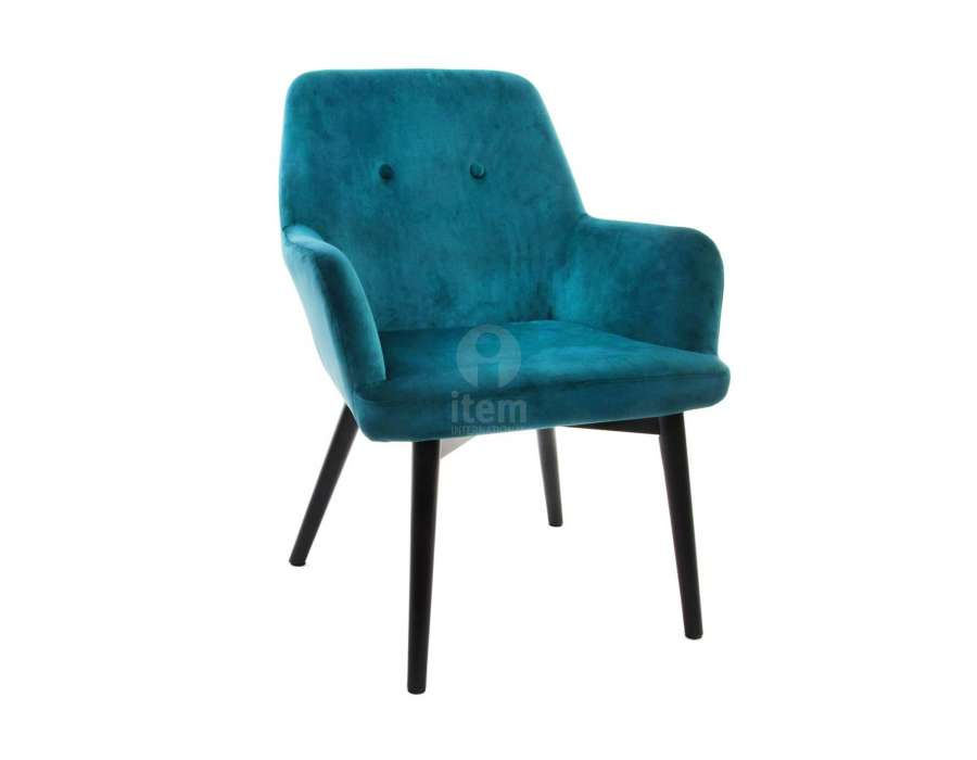 fauteuil bleu canard vert fonc pas cher moderne. Black Bedroom Furniture Sets. Home Design Ideas