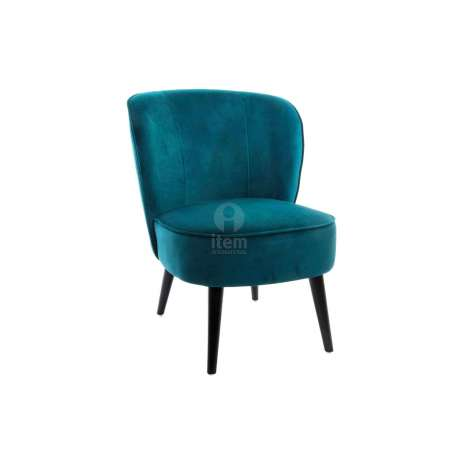 fauteuil bas bleu canard vert fonc pas cher moderne. Black Bedroom Furniture Sets. Home Design Ideas