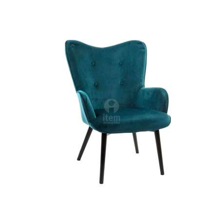 fauteuil papillon bleu canard vert fonc pas cher moderne. Black Bedroom Furniture Sets. Home Design Ideas