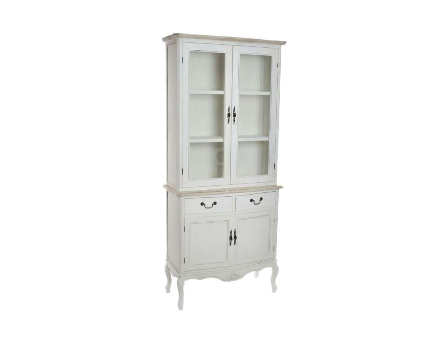 Armoire vaisselier beautiful gallery of table de cuisine for Buffet avec hutch ikea