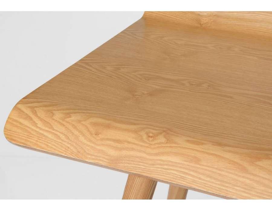 Notre bureau suspendu s te maison contemporaine en bois