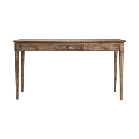 Table 160 cm bois cérusé gamme orientale