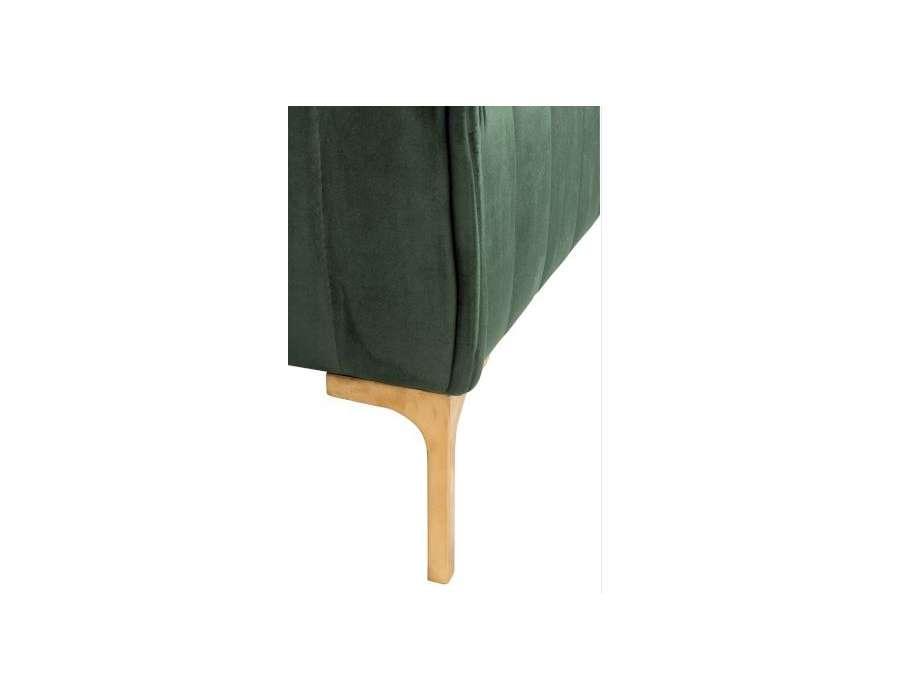 Fauteuil chic vert canard Jolipa