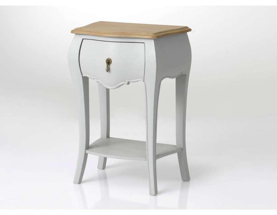 table de nuit grise meuble de chevet table de nuit grise 1 tiroir 1 table de nuit grise 3. Black Bedroom Furniture Sets. Home Design Ideas