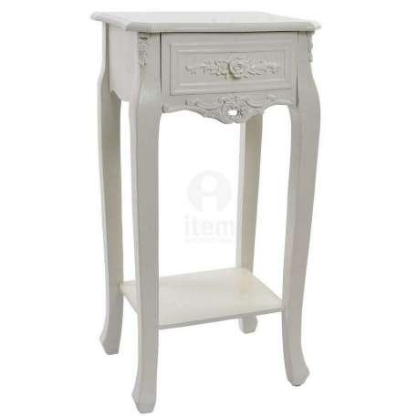 table de nuit romantique trendy table de chevet romantique table en by table de nuit romantique. Black Bedroom Furniture Sets. Home Design Ideas