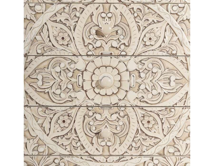 Commode sculptée orientale Adrar