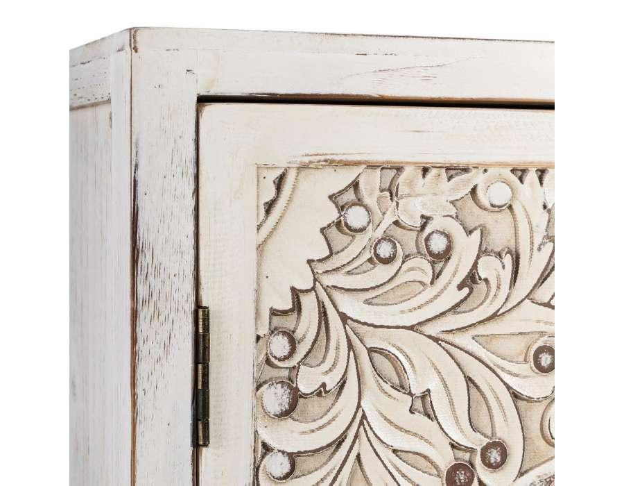 Meuble d'entée sculpté oriental Adrar