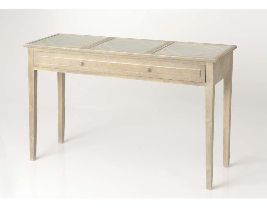 console de 120 cm c rus e avec miroir. Black Bedroom Furniture Sets. Home Design Ideas