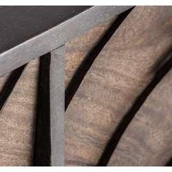 Buffet design métal et bois