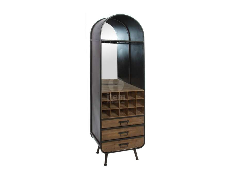 tag re vintage porte bouteilles bistrot industriel. Black Bedroom Furniture Sets. Home Design Ideas