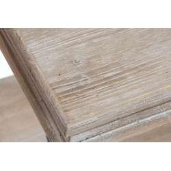 Console de drapier métal et bois clair