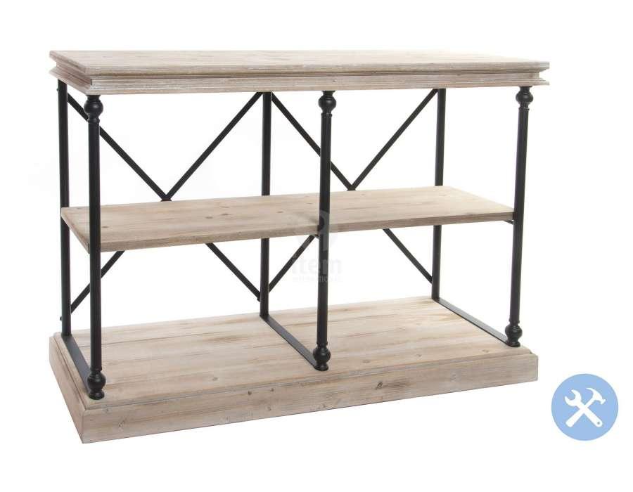 drapier en bois c rus console drapier m tal bois. Black Bedroom Furniture Sets. Home Design Ideas