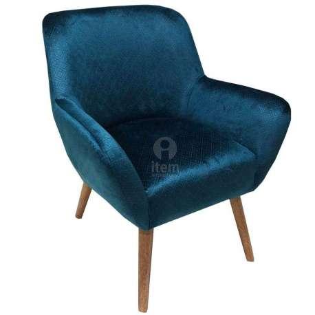 fabulous fauteuil velours bleu profond imprim with fauteuil velours. Black Bedroom Furniture Sets. Home Design Ideas