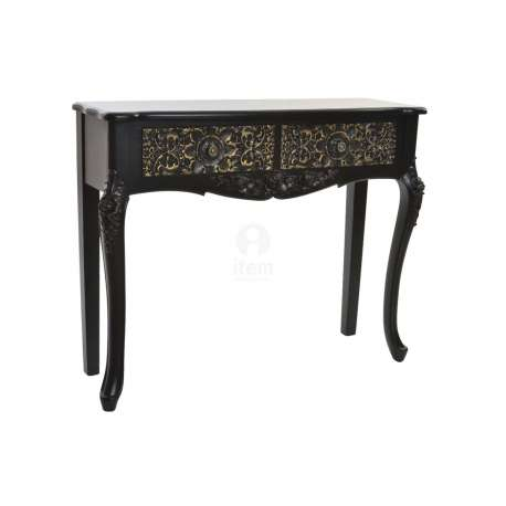 Console noire baroque orientale Kasur