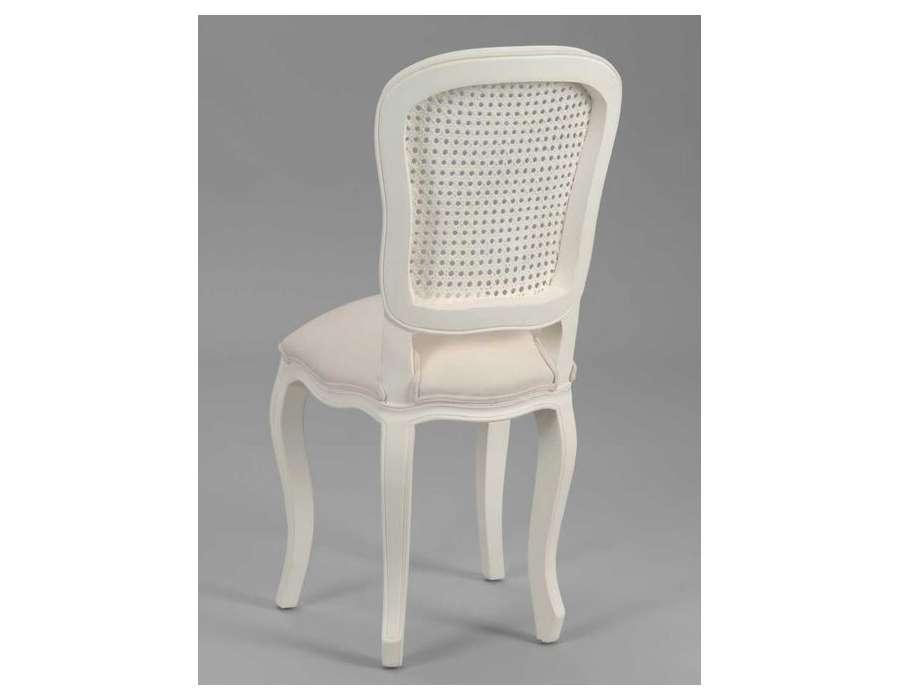 Chaise galbée assise bombée