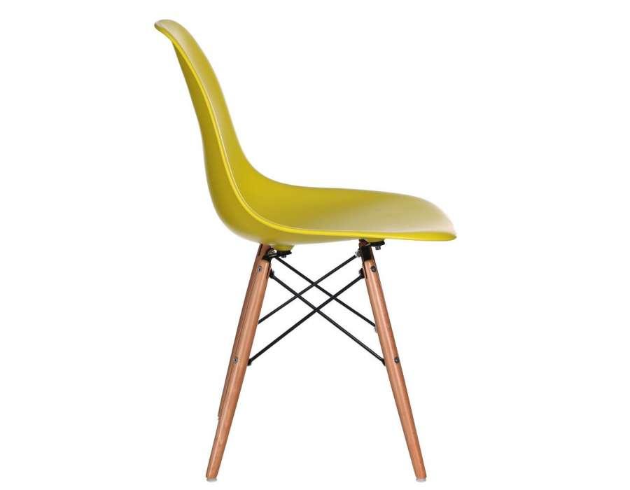 chaise jaune design mat scandinave pas cher vendre. Black Bedroom Furniture Sets. Home Design Ideas