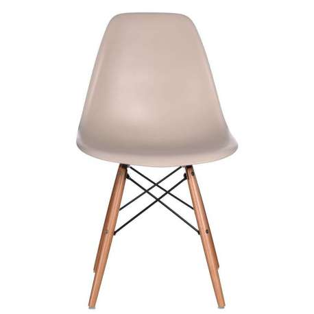 chaise taupe clair design mat scandinave pas cher vendre. Black Bedroom Furniture Sets. Home Design Ideas