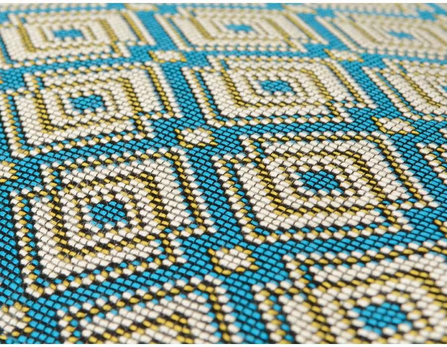 Fauteuil tapissé moderne