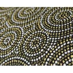 Fauteuil tapissé moderne multicolor