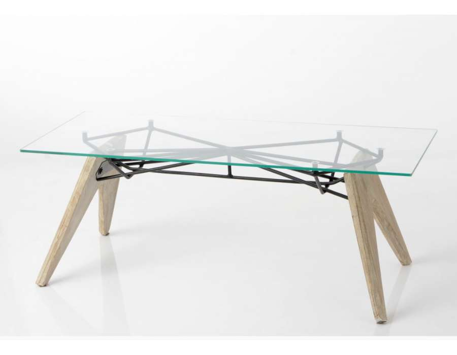 Table salon contemporaine structurale