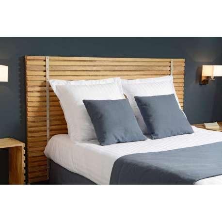 t te de lit bois 180 cm contemporaine marque amadeus. Black Bedroom Furniture Sets. Home Design Ideas