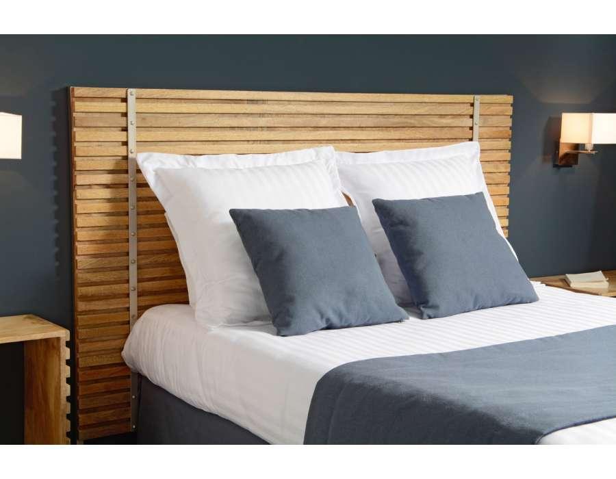 Tête de lit bois 180 cm contemporaine