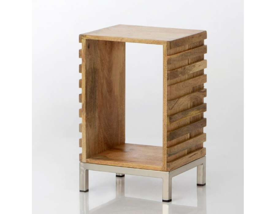 Chevet bois avec niche contemporain