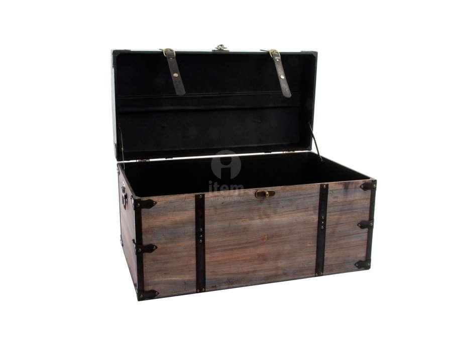 banquettes malles noire pas ch re par 2. Black Bedroom Furniture Sets. Home Design Ideas