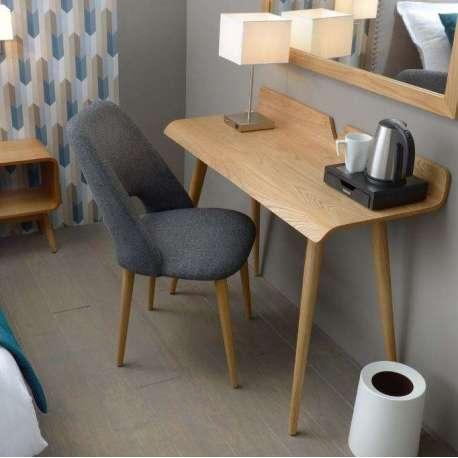 Bureau bois design contemporain beau meuble bureau design