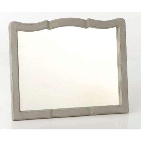 miroir romantique shabby chic lin amadeus