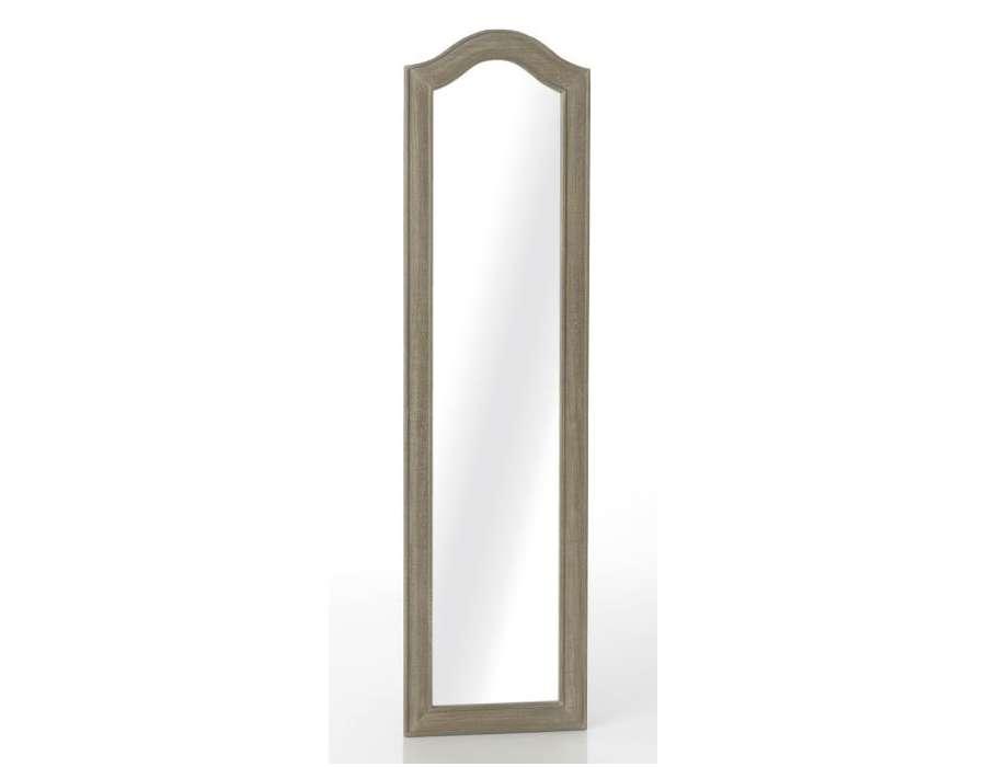 Miroir étroit haut cérusé Murano
