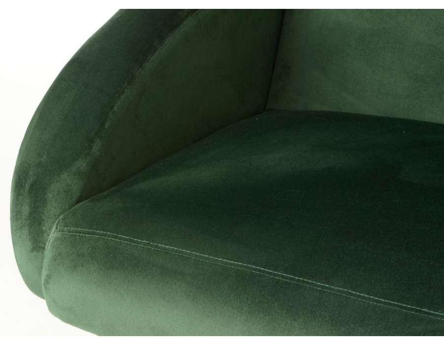 Canapé vert sapin scandinave Amadeus