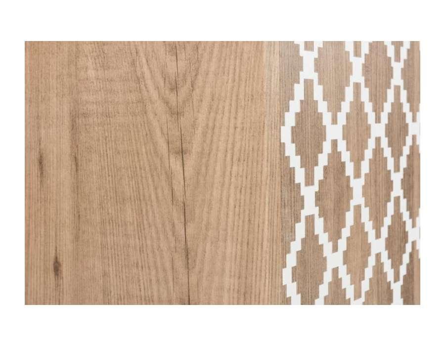 Armoire contemporaine bois clair Jolipa