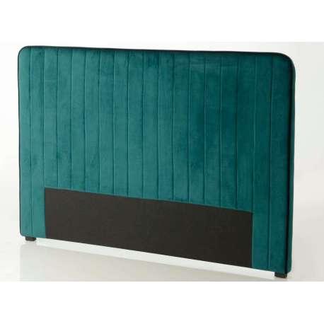 Tête de lit bleue canard de 180 cm