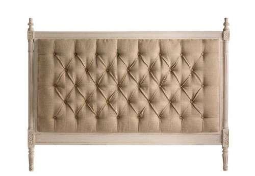 Tête de lit matelassée de 160 cm chic