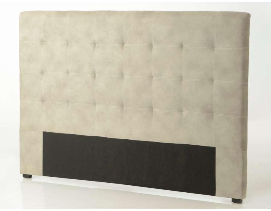 Tête de lit beige de 180 cm contemporaine