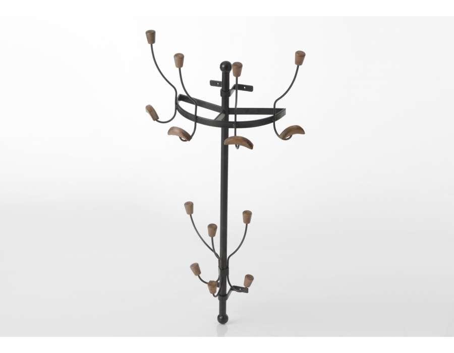 porte manteaux 7 branches accrocher dans une entr e amadeus. Black Bedroom Furniture Sets. Home Design Ideas